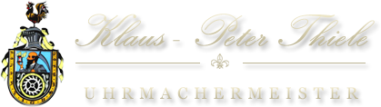 Klaus-Peter Thiele - Uhrmachermeister Inh. Klaus Thiele - Logo